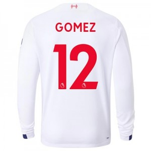 Liverpool Away Shirt 2019-20 - Long Sleeve with Gomez 12 printing