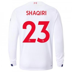 Liverpool Away Shirt 2019-20 - Long Sleeve with Shaqiri 23 printing