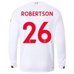 Liverpool Away Shirt 2019-20 - Long Sleeve with Robertson 26 printing