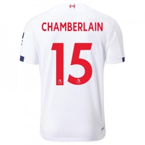 Liverpool Away Shirt 2019-20 - Kids with Chamberlain 15 printing