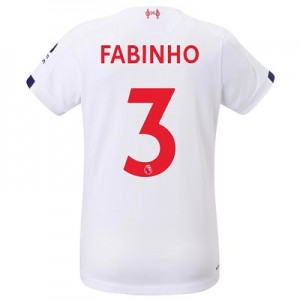 Liverpool Away Shirt 2019-20 - Womens with Fabinho 3 printing