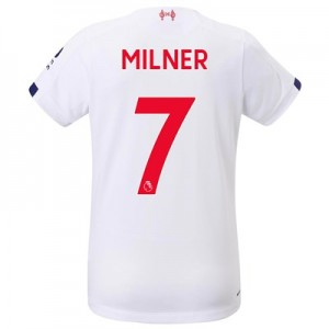 Liverpool Away Shirt 2019-20 - Womens with Milner 7 printing