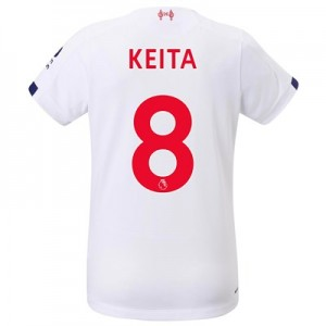 Liverpool Away Shirt 2019-20 - Womens with Keita  8 printing