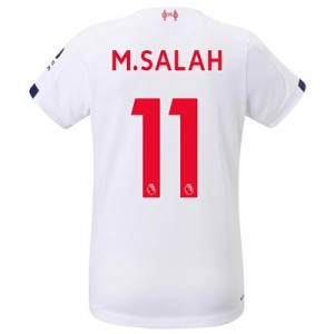 Liverpool Away Shirt 2019-20 - Womens with M.Salah 11 printing
