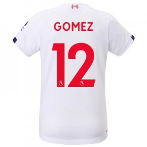 Liverpool Away Shirt 2019-20 - Womens with Gomez 12 printing