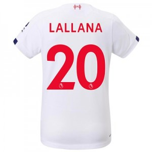 Liverpool Away Shirt 2019-20 - Womens with Lallana 20 printing