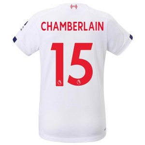 Liverpool Away Shirt 2019-20 - Womens with Chamberlain 15 printing