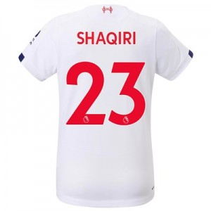 Liverpool Away Shirt 2019-20 - Womens with Shaqiri 23 printing