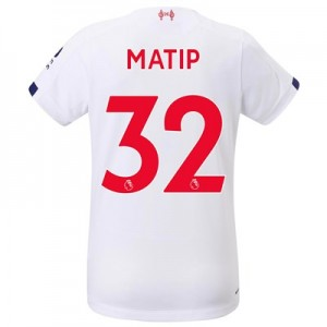 Liverpool Away Shirt 2019-20 - Womens with Matip 32 printing