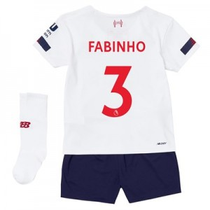 Liverpool Away Infant Kit 2019-20 with Fabinho 3 printing