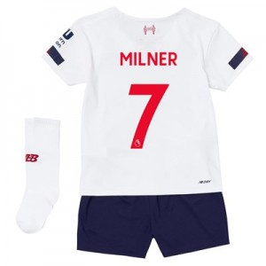 Liverpool Away Infant Kit 2019-20 with Milner 7 printing