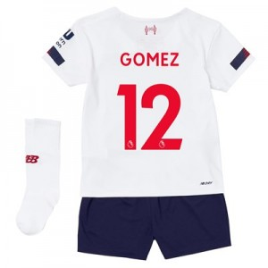 Liverpool Away Infant Kit 2019-20 with Gomez 12 printing