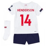 Liverpool Away Infant Kit 2019-20 with Henderson 14 printing