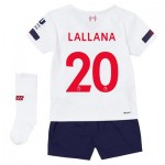 Liverpool Away Infant Kit 2019-20 with Lallana 20 printing