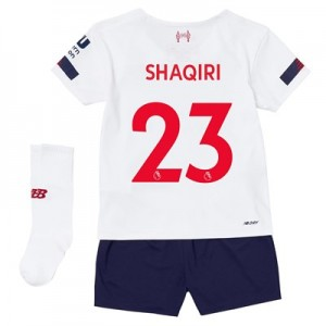 Liverpool Away Infant Kit 2019-20 with Shaqiri 23 printing