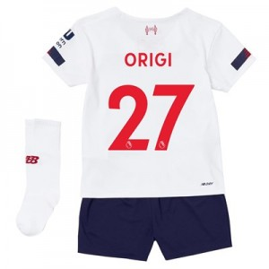 Liverpool Away Infant Kit 2019-20 with Origi 27 printing