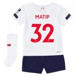 Liverpool Away Infant Kit 2019-20 with Matip 32 printing