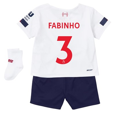 Liverpool Away Baby Kit 2019-20 with Fabinho 3 printing