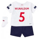 Liverpool Away Baby Kit 2019-20 with Wijnaldum 5 printing