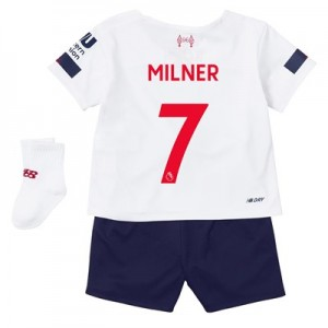 Liverpool Away Baby Kit 2019-20 with Milner 7 printing
