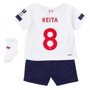 Liverpool Away Baby Kit 2019-20 with Keita  8 printing