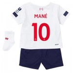 Liverpool Away Baby Kit 2019-20 with Mané 10 printing