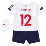 Liverpool Away Baby Kit 2019-20 with Gomez 12 printing
