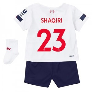 Liverpool Away Baby Kit 2019-20 with Shaqiri 23 printing