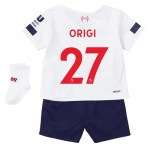Liverpool Away Baby Kit 2019-20 with Origi 27 printing