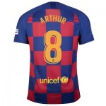 Barcelona Home Stadium Shirt 2019-20 with Arthur 8 printing