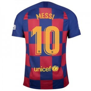 Barcelona Home Stadium Shirt 2019-20 with Messi 10 printing