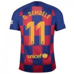 Barcelona Home Stadium Shirt 2019-20 with O. Dembélé 11 printing