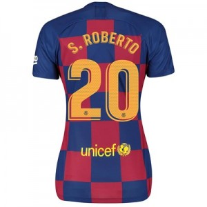 Barcelona Home Vapor Match Shirt 2019-20 - Womens with S.Roberto 20 printing