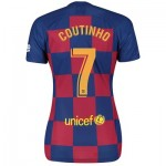 Barcelona Home Stadium Shirt 2019-20 - Womens with Coutinho 7 printing