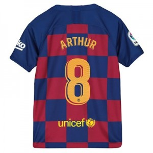 Barcelona Home Vapor Match Shirt 2019-20 - Kids with Arthur 8 printing