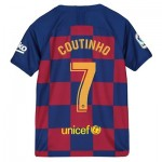 Barcelona Home Stadium Shirt 2019-20 - Kids with Coutinho 7 printing