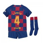 Barcelona Home Stadium Kit 2019-20 - Little Kids with I.Rakitic 4 printing