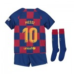 Barcelona Home Stadium Kit 2019-20 - Little Kids with Messi 10 printing