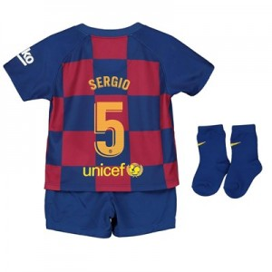 Barcelona Home Stadium Kit 2019-20 - Infants with Sergio 5 printing