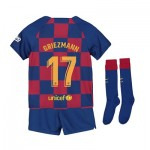 Barcelona Home Stadium Kit 2019-20 - Little Kids with Griezmann 17 printing