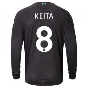Liverpool Third Shirt 2019-20 - Long Sleeve with Keita  8 printing