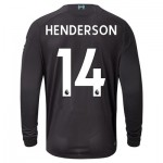 Liverpool Third Shirt 2019-20 - Long Sleeve with Henderson 14 printing