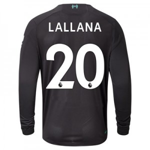 Liverpool Third Shirt 2019-20 - Long Sleeve with Lallana 20 printing