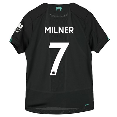 Liverpool Third Shirt 2019-20 - Kids with Milner 7 printing