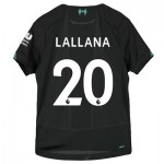 Liverpool Third Shirt 2019-20 - Kids with Lallana 20 printing