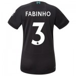 Liverpool Third Shirt 2019-20 - Womens with Fabinho 3 printing