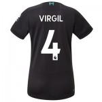 Liverpool Third Shirt 2019-20 - Womens with Virgil 4 printing