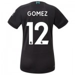 Liverpool Third Shirt 2019-20 - Womens with Gomez 12 printing