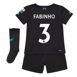 Liverpool Third Infant Kit 2019-20 with Fabinho 3 printing