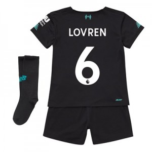 Liverpool Third Infant Kit 2019-20 with Lovren 6 printing